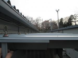 フラットな屋根