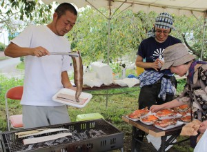 漁師さんの海鮮焼き