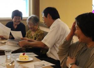 フィレンツェ小島社長とナックプランニング平石さんとお茶会