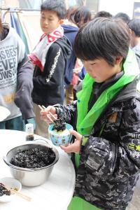 生海苔ご飯