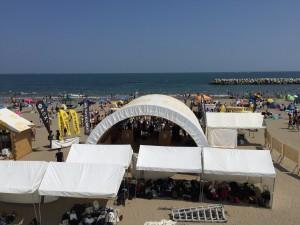 菖蒲田海水浴場復興祭