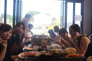 海鮮焼き・食べ放題という夢のプラン