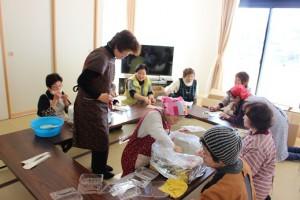 ご飯は婦人会の皆さんで300人以上分を作ってもらいまいた。