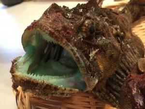七ヶ浜町の特産魚「ぼっけ」