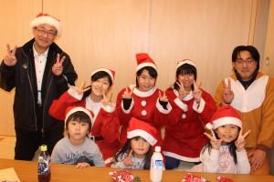 松ヶ浜の子ども達とFプロ中学生